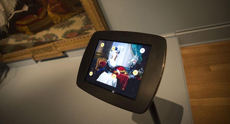 New Orleans Museum of Art (NOMA), digital label for A Portrait of Marie Antoinette