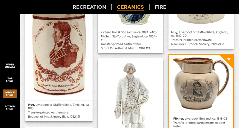 New-York Historical Society, Open Storage Interactive