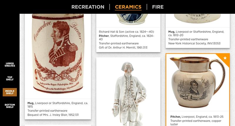 New-York Historical Society, Open Storage Interactive