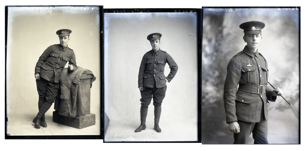 Sutton Archives Catalogue, Knights-Whittome Collection, British soldiers