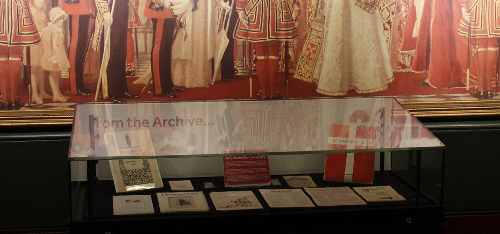 First World War Centenary Display, Royal Albert Hall Archive